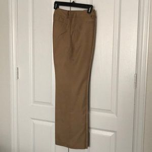 ANN TAYLOR Tan lined Signature Fit Trouser